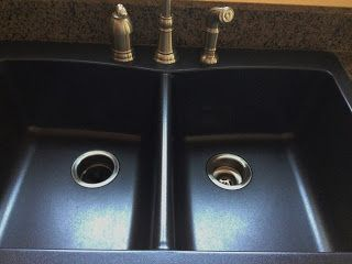 Creative Mess: Cleaning this black sink   whatever it is