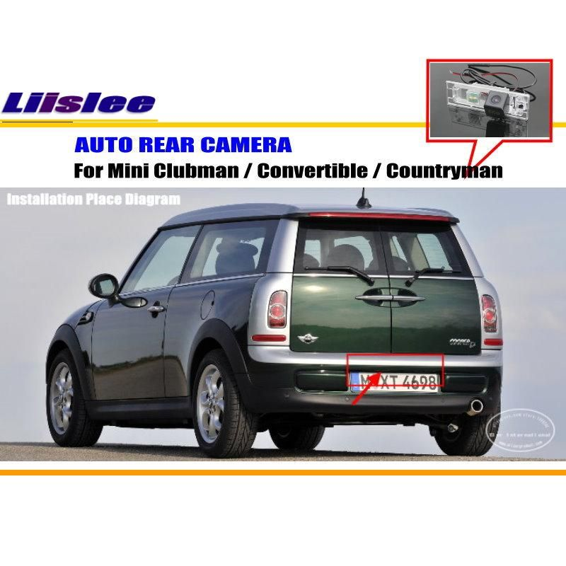 Car Rear View Camera For Mini Clubman Convertible Countryman Reverse Hd Ccd Rca Ntst Pal License Plate Lamp Oem Affiliate