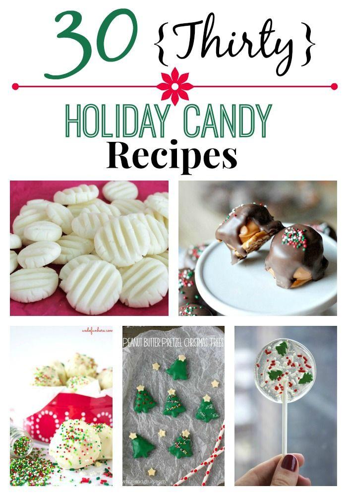 30 Holiday Candy Recipes | Recepty