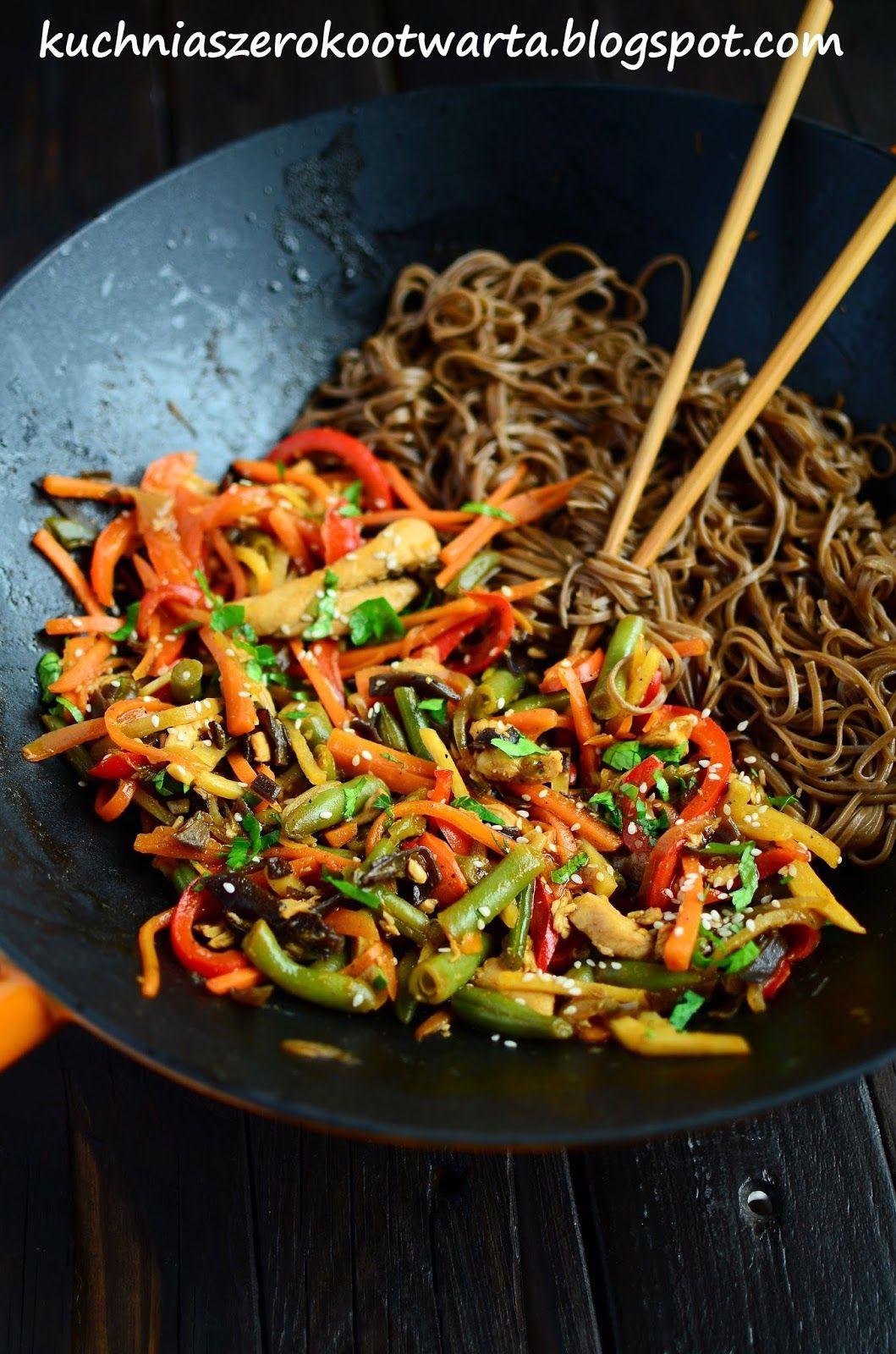 Chinskie Z Makaronem Soba Food And Drink Food Eat