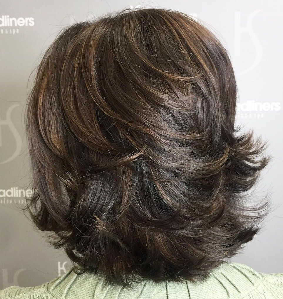 70 Brightest Medium Layered Haircuts to Light You Up ...