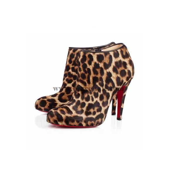 the best attitude 013fa d450e Christian Louboutin Belle 100mm Ankle Boots CW20131023 ...