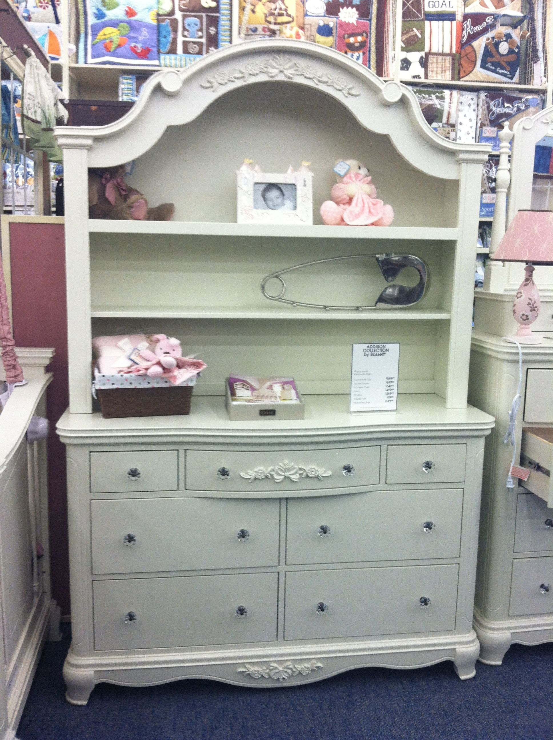 Dresser changing table no hutch lilliana