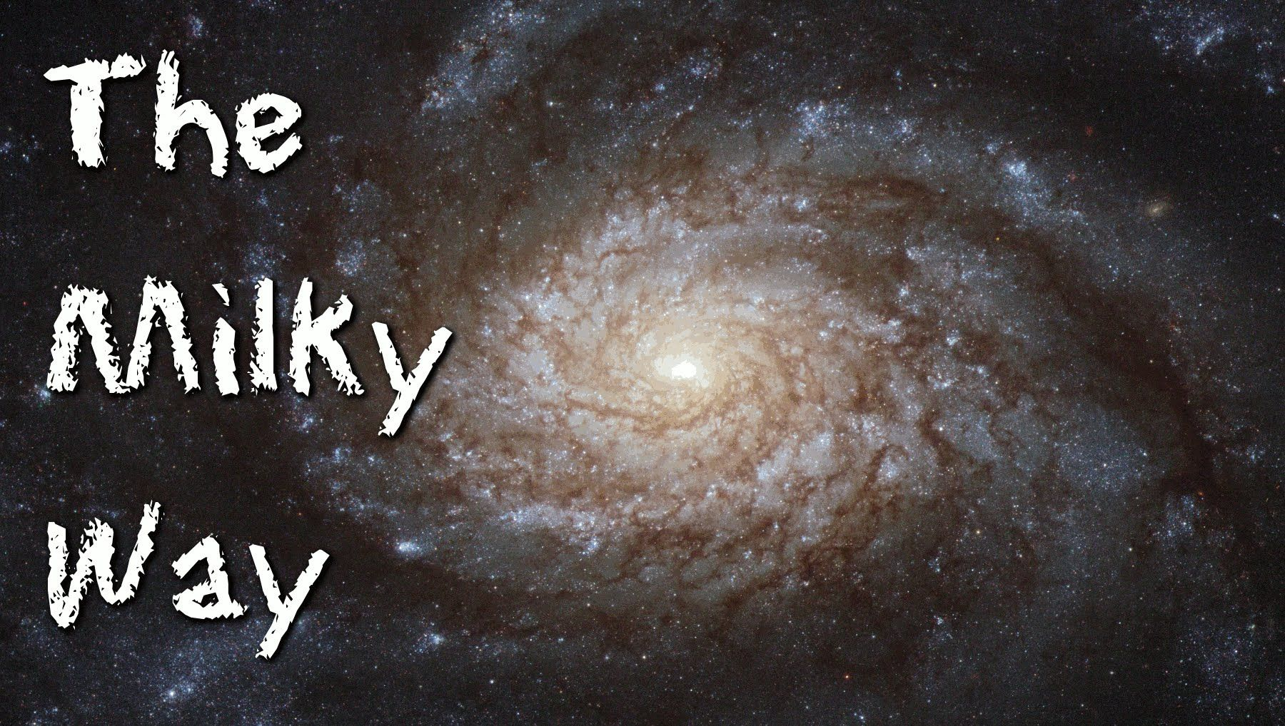 The Milky Way For Children Galaxies And Space Astronomy For Kids