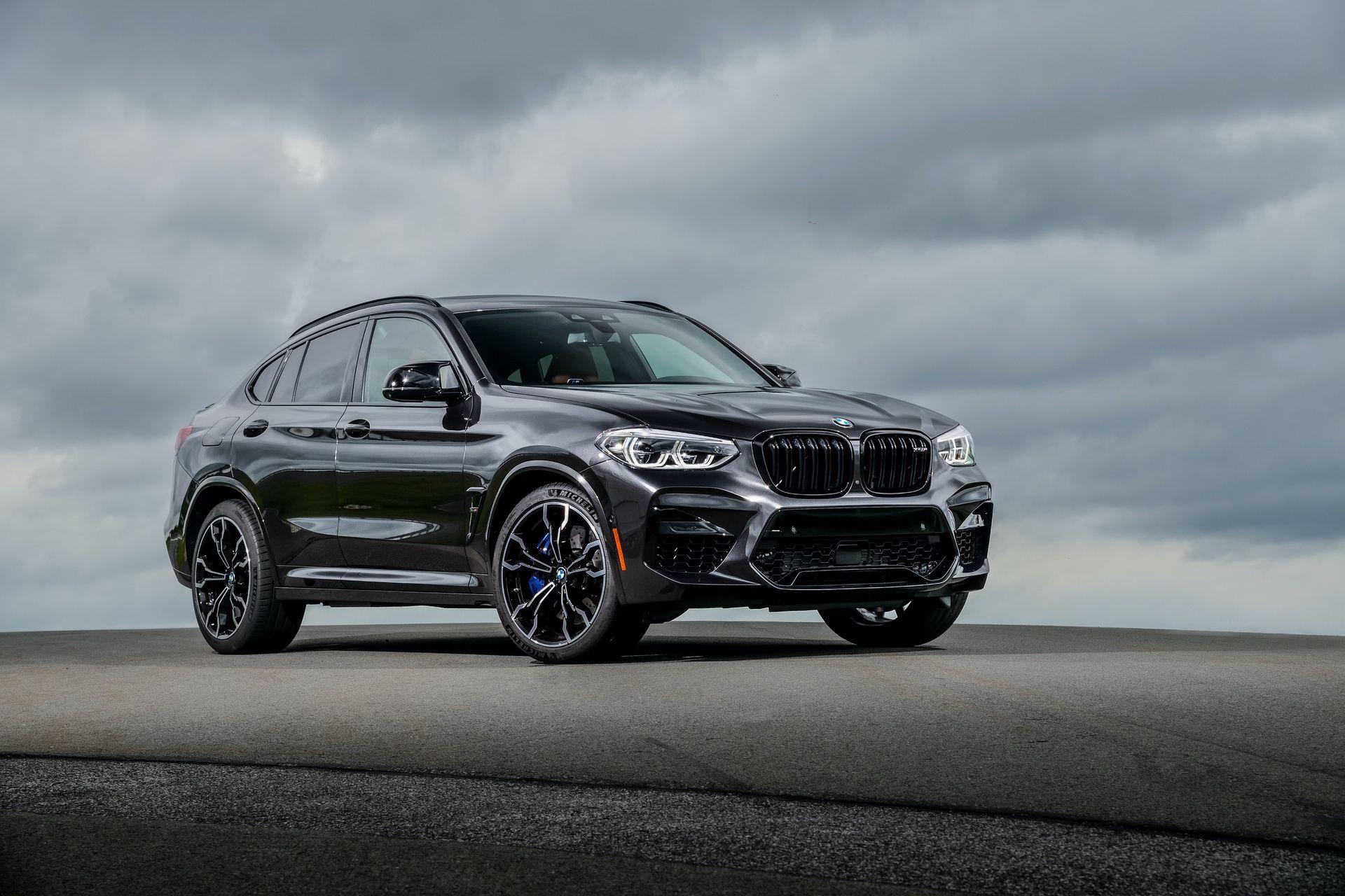 2020 Bmw X4 M Looks Imposing In Sophisto Grey Color Bmw X4 Bmw