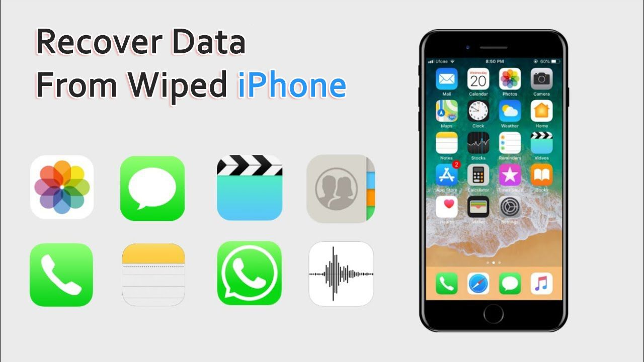 Recover Data From Erased Iphone Without Any Backup 2019 Update Iphone Data Recover