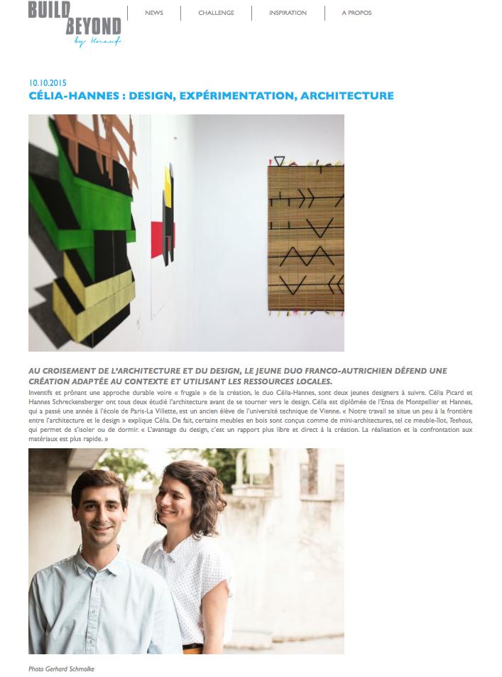 Celia-Hannes on buildbeyond.fr #celiahannes #knauf #design #interior
