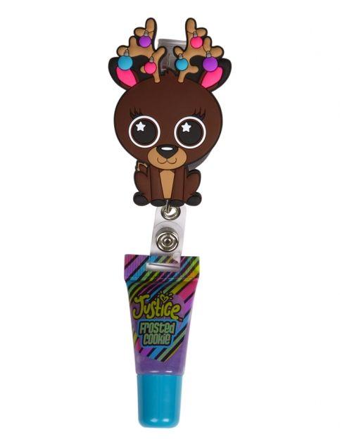 Holiday Critter Yoyo Lip Gloss | Girls Lip Gloss Beauty | Shop Justice