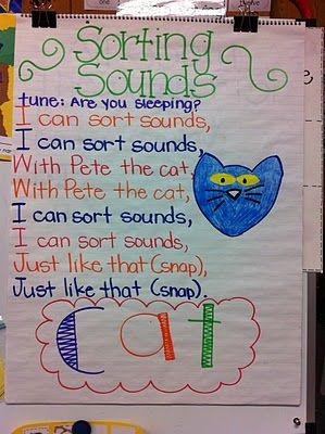 Sing song to sort sounds