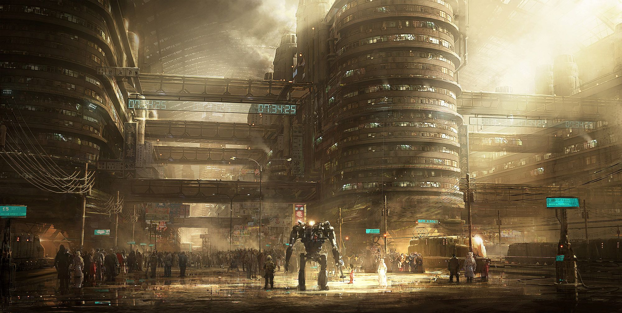 Emmanuel Shiu is a concept artist who's work spans several movies and videogames.