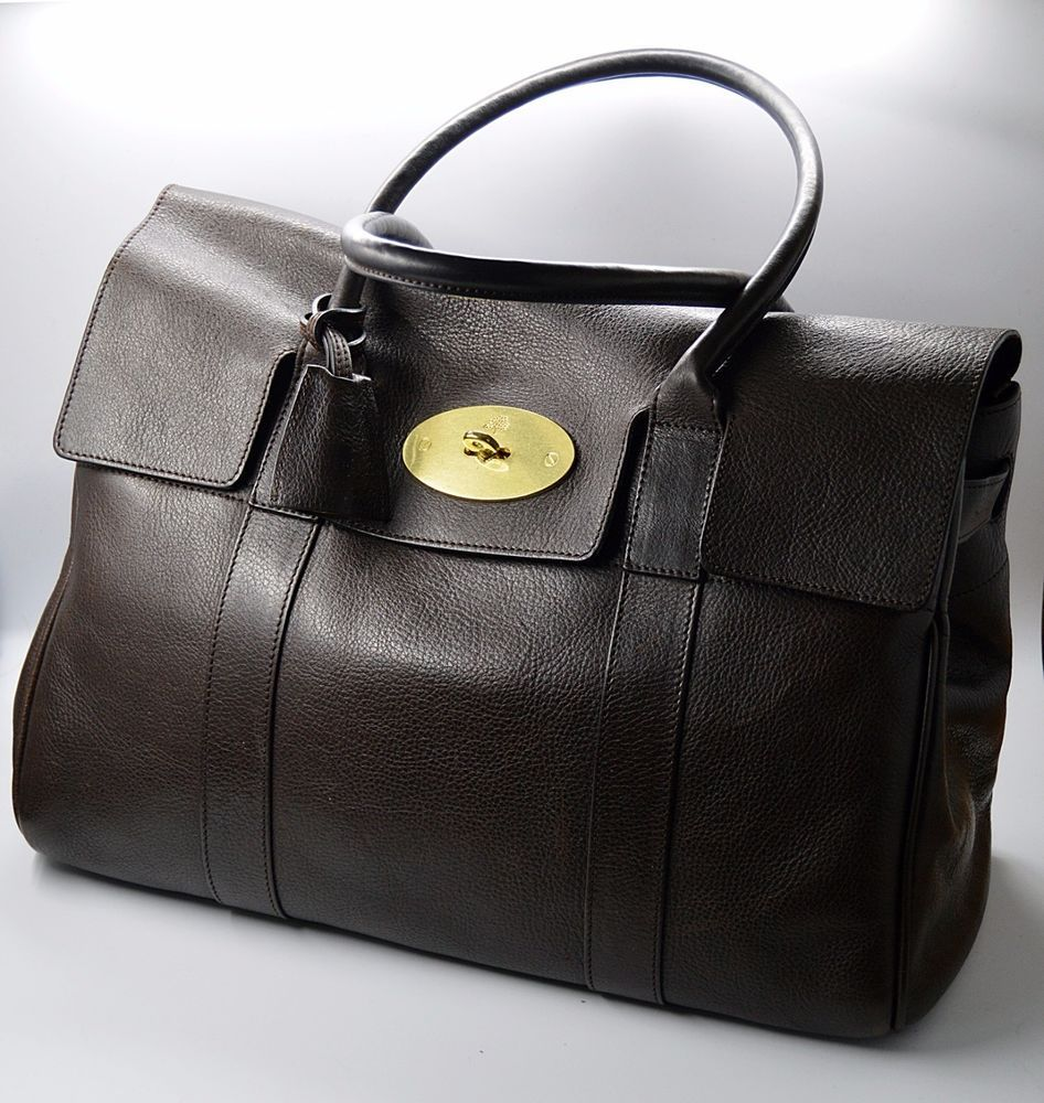 Authentic MULBERRY BAYSWATER samora liner EXCELLENT CONDITION chocolate  brown  Mulberry 92810793a1431