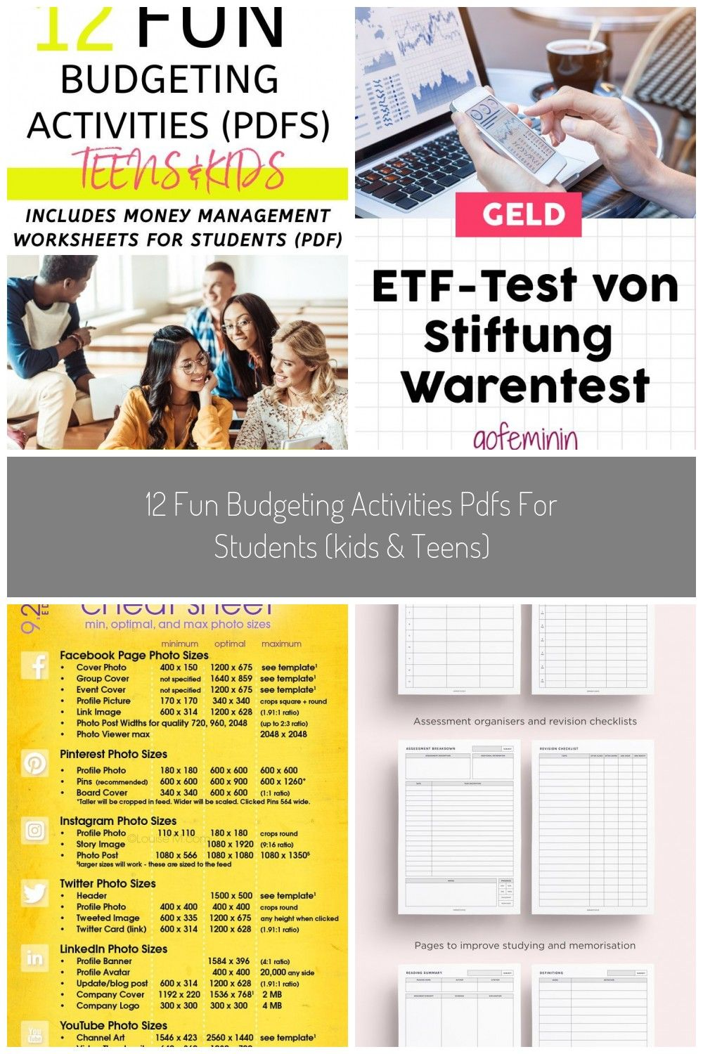 Looking For Fun Budgeting Activities Pdfs You Ll Love This