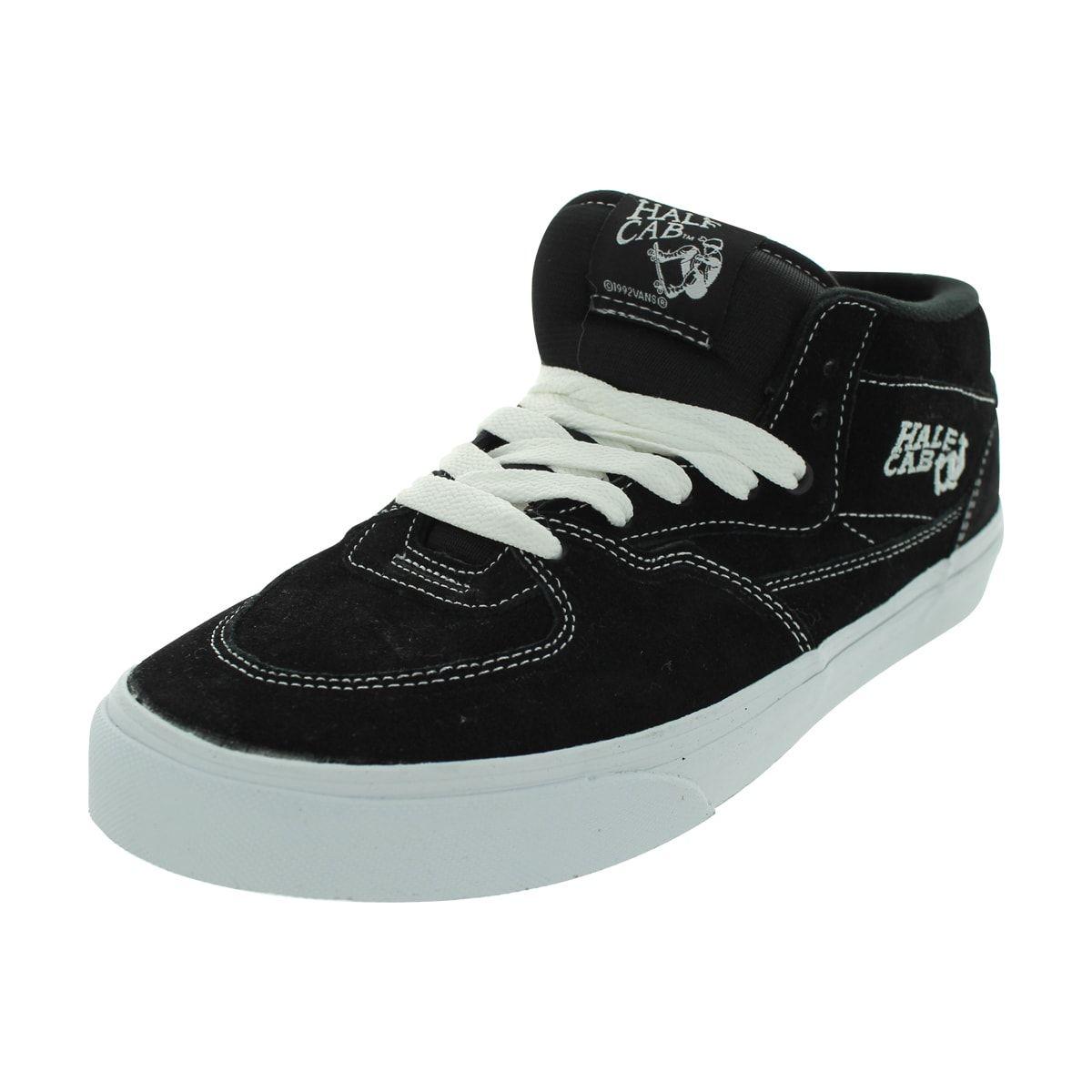 efd37f5ec52 Vans Half Cab Skate Shoes (Black) (8.5 Men US   10 Women US) (canvas)