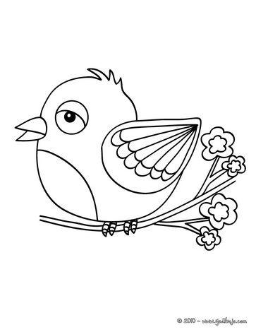 Pajarito Con Imagenes Pajaros Para Colorear Pajaros Animados