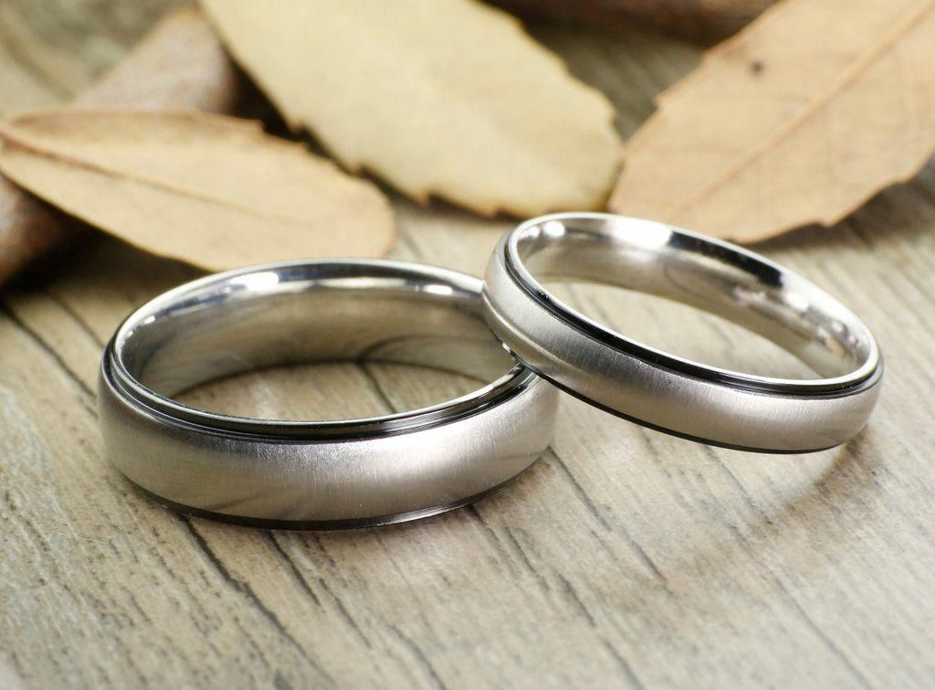 Black Any US UK Size Handmade Groom&Bride His and Her