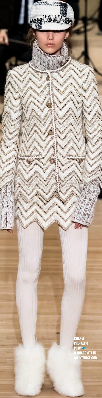 Chanel prefall fashionwomen pinterest fashion