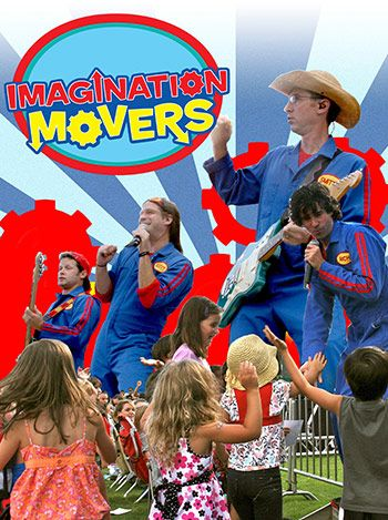 Through a series of songs and dances emphasizing that with imagination anything is possible, the Imagination Movers performed at this year's Day for Kids celebration Sept. 9 at Ward Field at Pearl Harbor-Hickam. (Photos by Sheri Cavalieri)