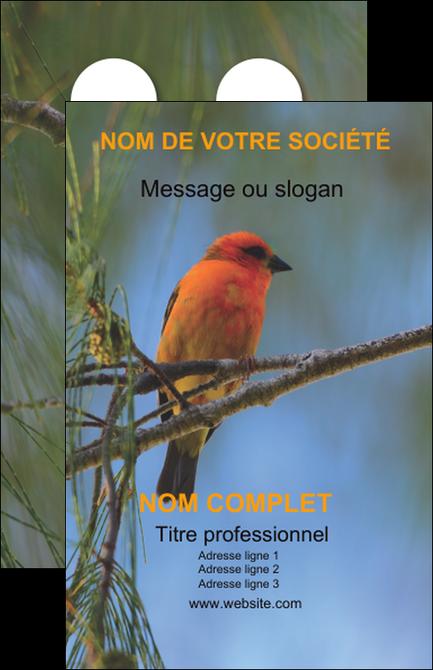 Carte De Visite Modle Oiseau Rouge Et Exemple Nature Parc Naturel Animaux Des Oiseaux Paysage Tourisme Site Touristique