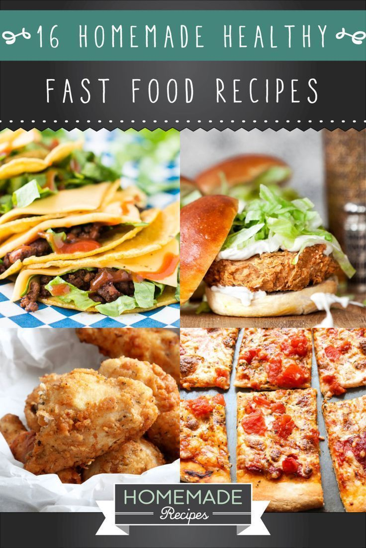 16 homemade healthy fast food recipes healthy fast food copycat 16 homemade healthy fast food recipes delicious and healthy copycat recipes httphomemaderecipeshealthy fast food recipes forumfinder Choice Image