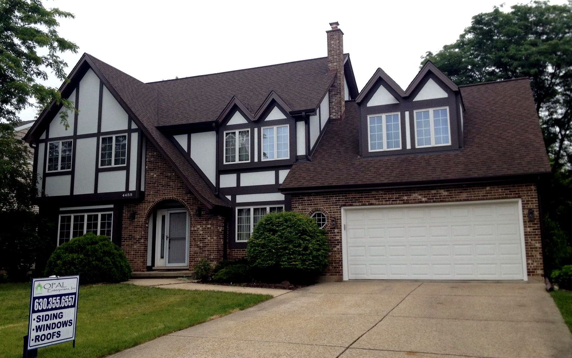 Stylish New Stucco Was Installed For A Modern Improvement On A