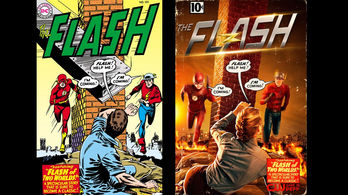 the flash | ... Garrick en The Flash es un homenaje al cómic - The Flash Temporada 2