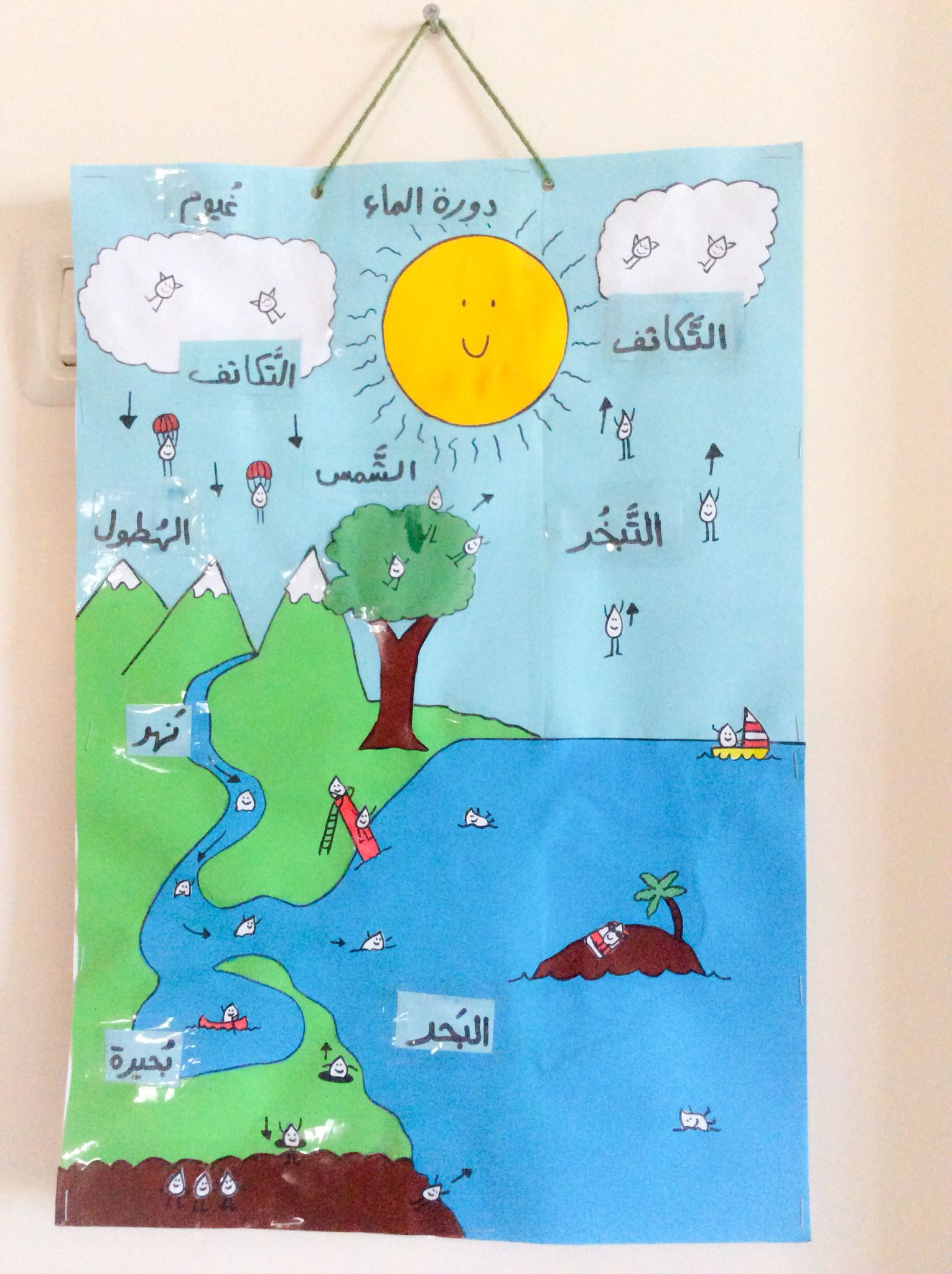 Water Cycle Poster, Student Handout & Quiz (for 3rd, 4th, & 5th ...