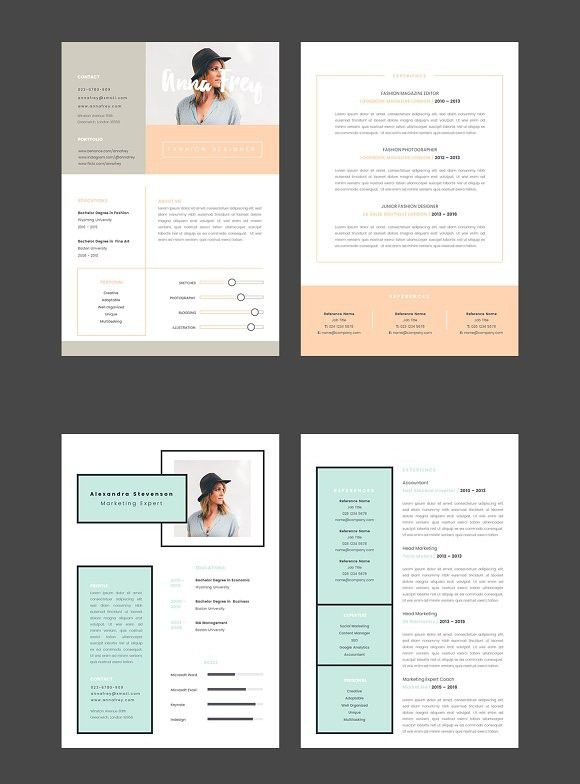 Resume 10 - A4 Keynote Format Keynote Templates Keynote - resume sample writing for fresh graduate pdf