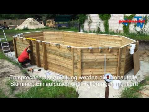 Holzpool Proswell by Procopi - YouTube | Pools | Pinterest