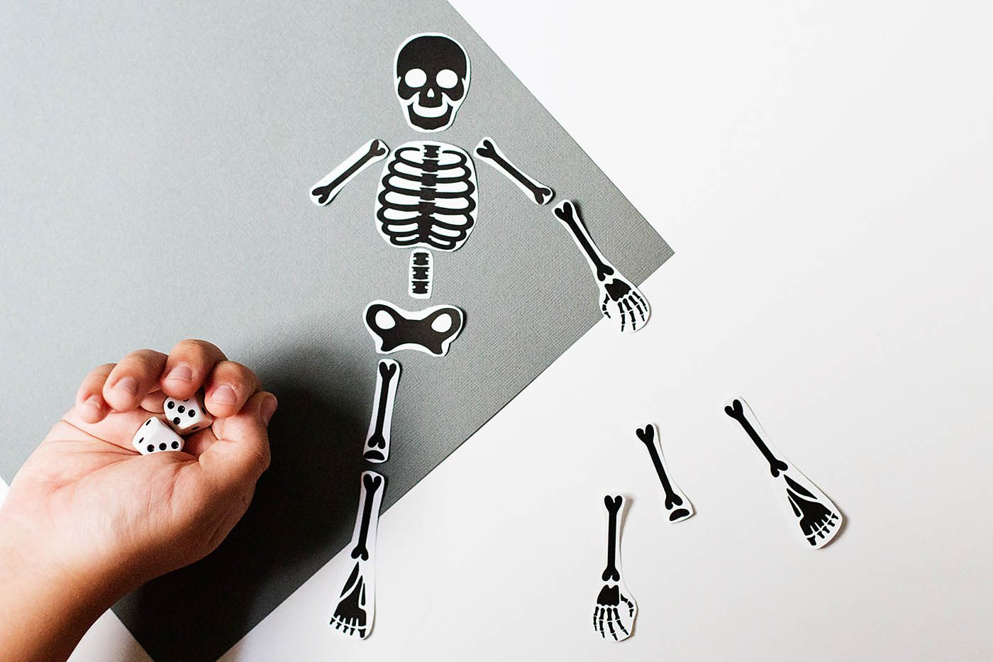 Free Printable Skeleton Game | Free printable, Halloween parties and ...