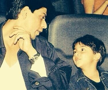 22 Mar 2014 Twitter / iamsrk: Nothing is more beautiful than to see this little piece of my heart now bigger & stronger than me....