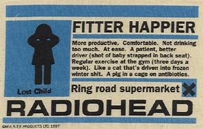 5c9dfa8b Fitter Happier shirt - OK Computer - Wikipedia, the free encyclopedia