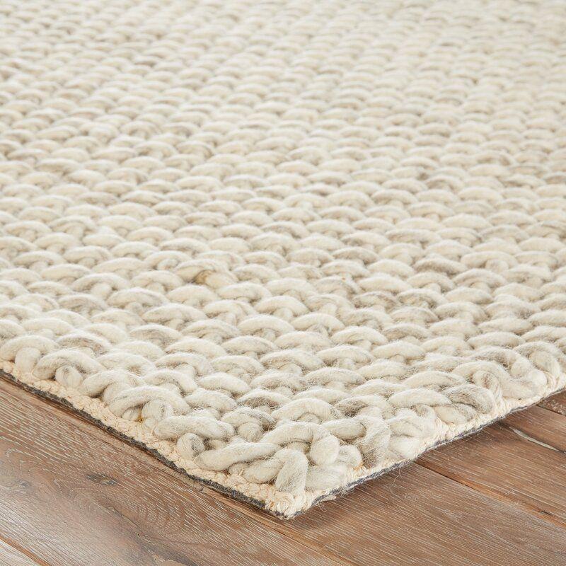Checotah Hand Braided Wool Ivory Area Rug Reviews Joss Main