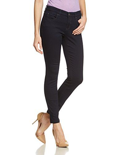 4e996158e1b292 MAC - Dream Skinny Pantoloni straight da donna blu (dark rinsewash d801)  W36/