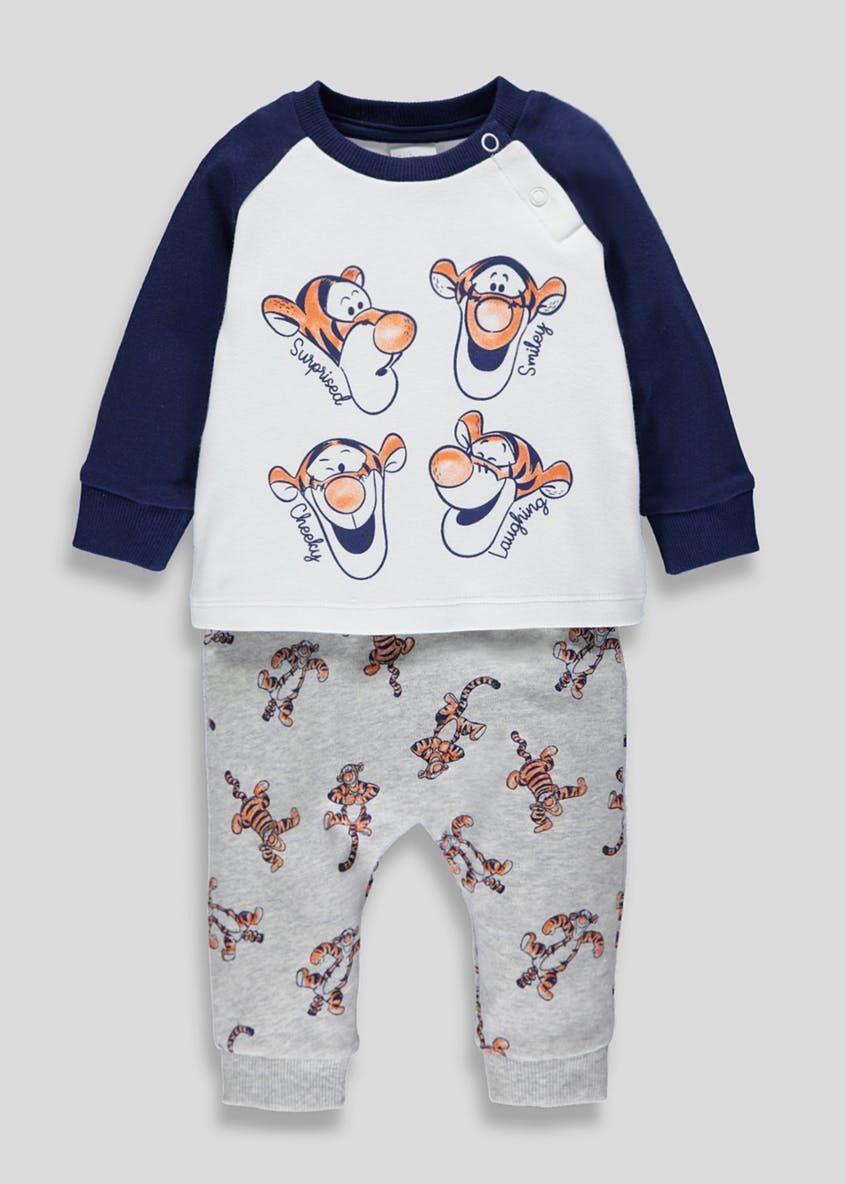 67bddf18d Unisex Disney Tigger Top & Leggings Set (Newborn-12mths) – Cream ...