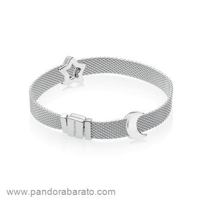 Haut Pandora Pandora Reflexions Conjunto De Regalo Estrella Y Luna ...