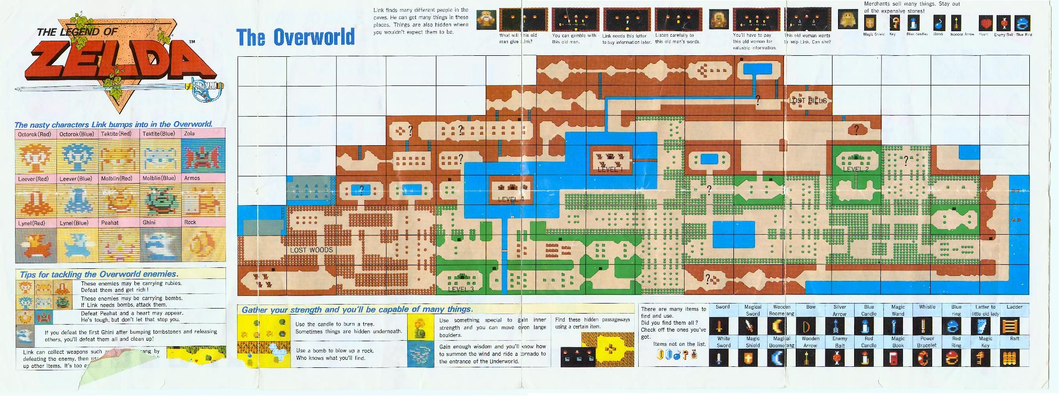 Its a secret to everybody zelda map original zelda and gaming zelda game maps google search gumiabroncs Images