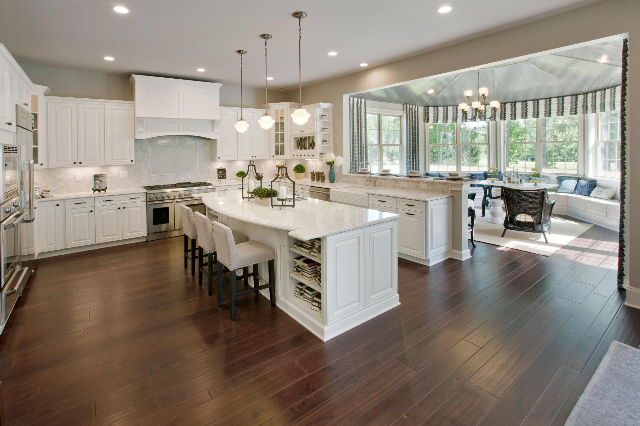 Toll Brothers At Hasentree Nc Kitchen Sunroom Kitchen