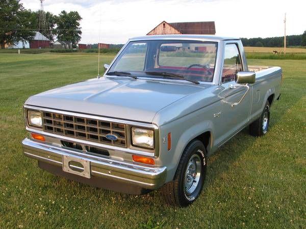 1984 Ford Ranger Xl Camionetas Ranger
