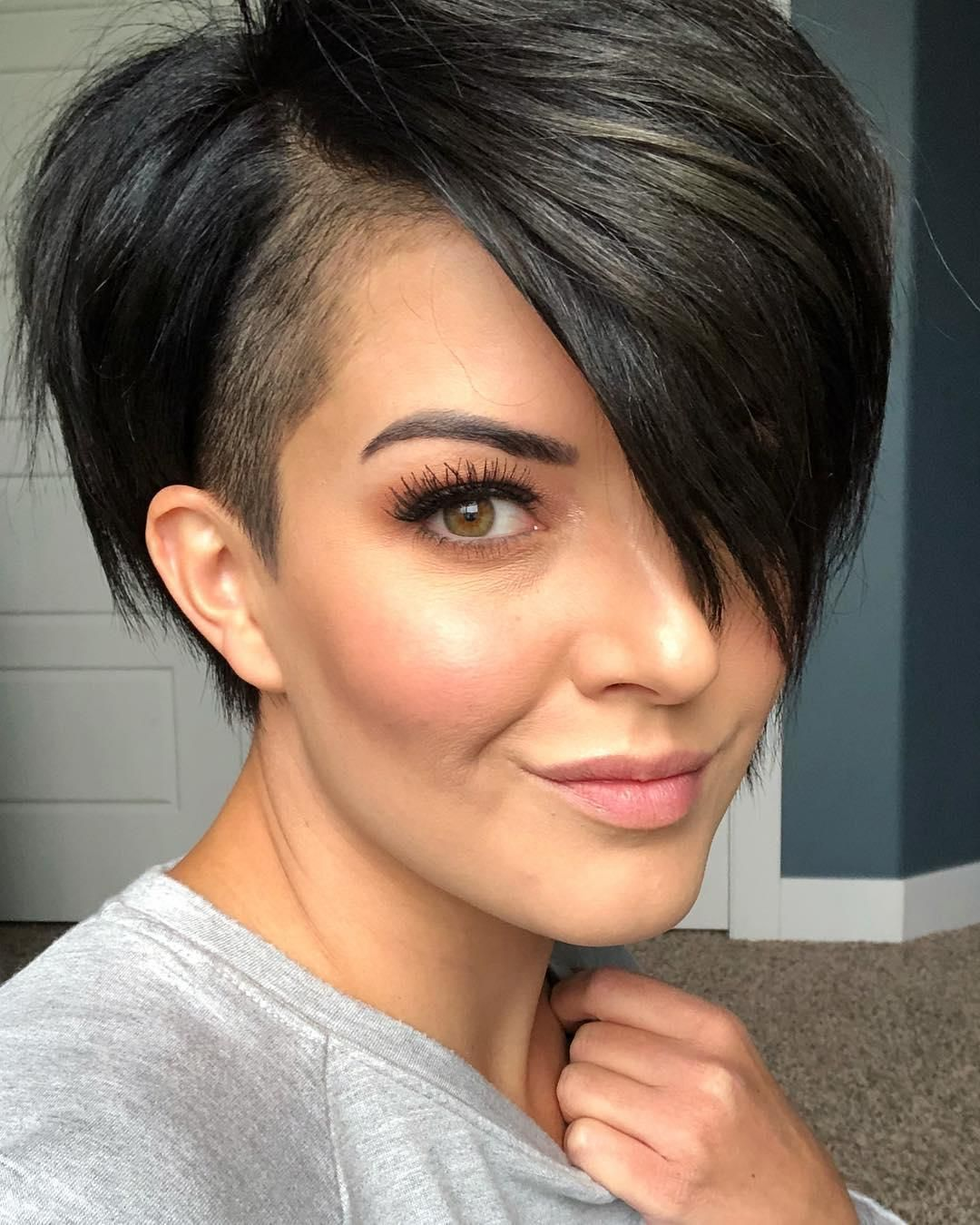 54 Pretty Short Straight Hairstyles and Haircuts Trending