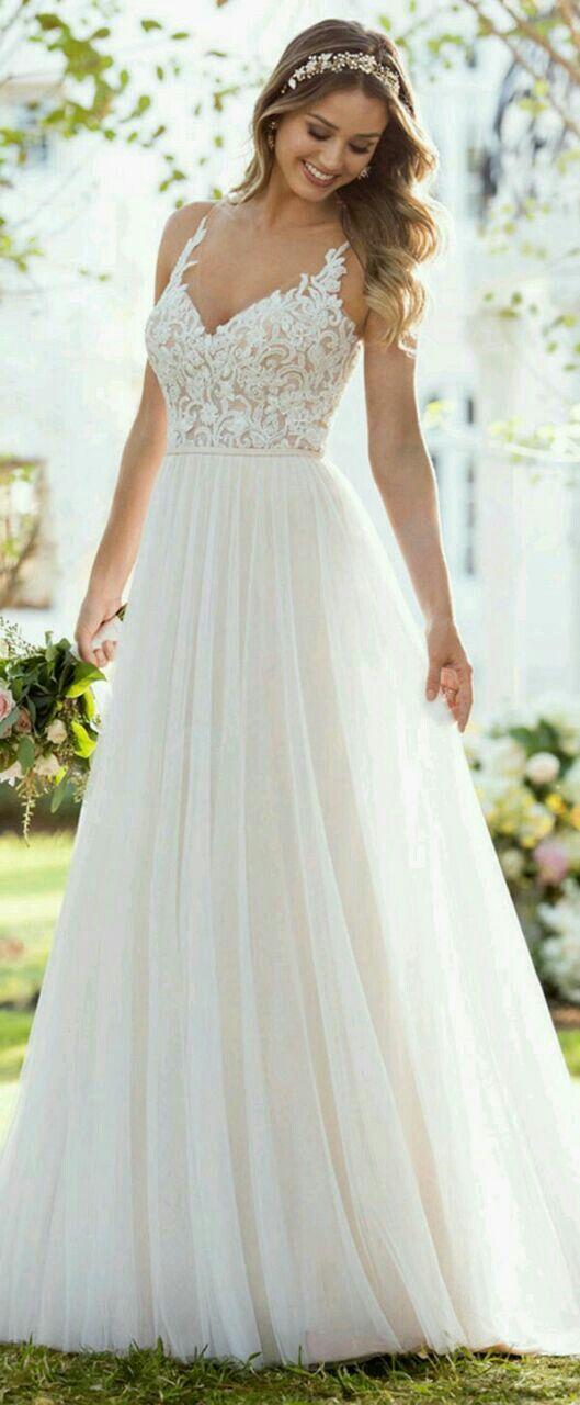 Pin von Lauren Moore auf Dresses | Pinterest | Hochzeitskleider ...