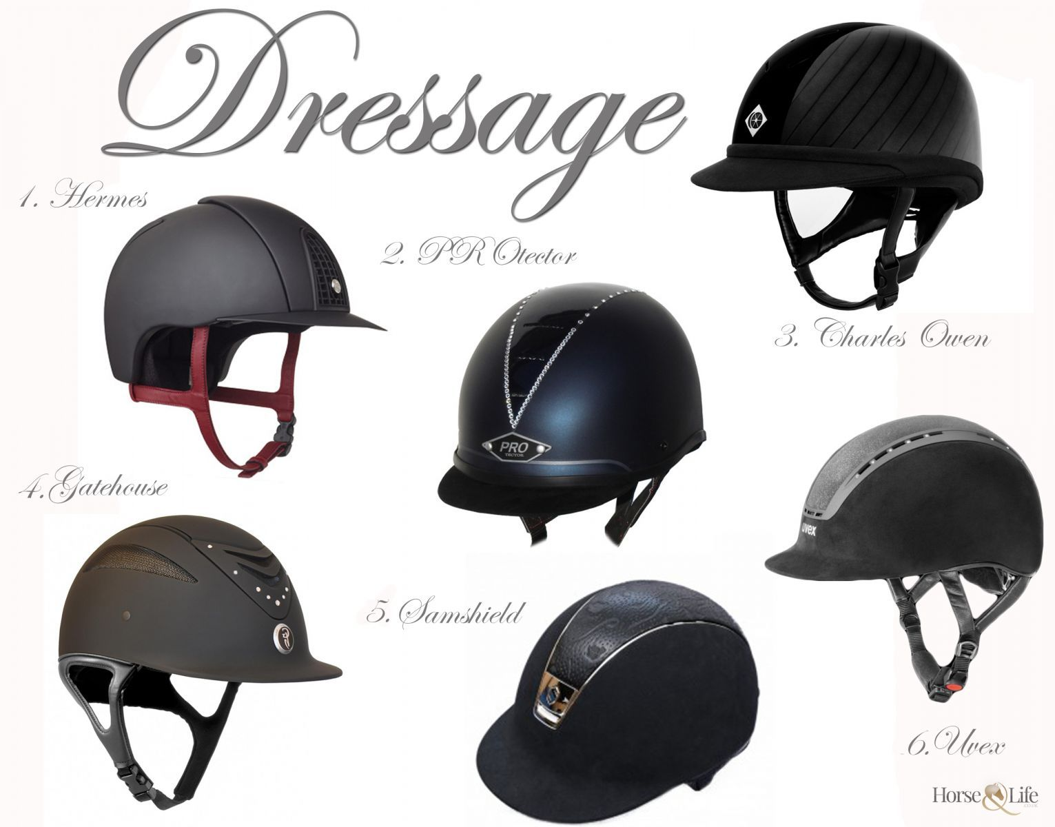 Dressage Helmets For International Helmet Awareness Day Horse