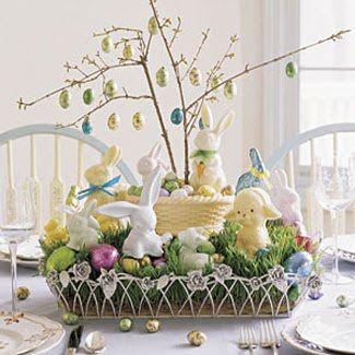 Easter Candy Centerpiece Idea Easter Pinterest Easter Easter