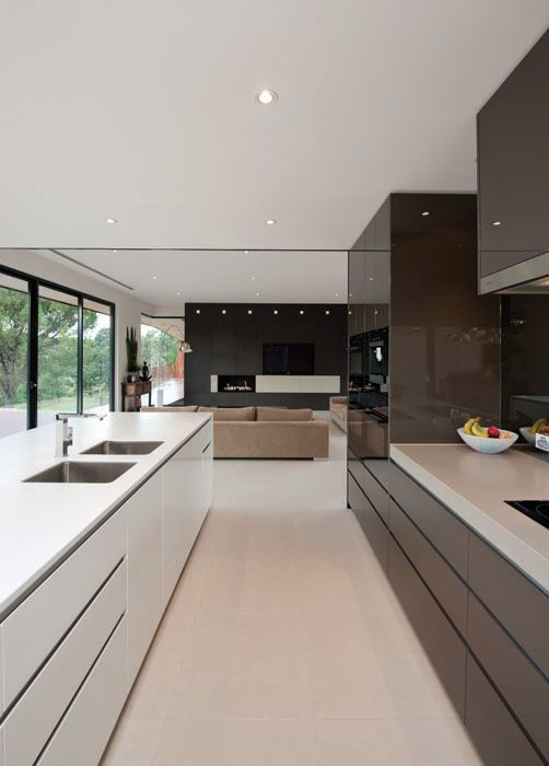 39 Big Kitchen Interior Design Ideas For A Unique Kitchen  Clever Stunning Modern Big Kitchen Design Ideas Inspiration Design