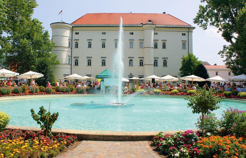 Schloss Porcia Austria to place Pinterest Austria