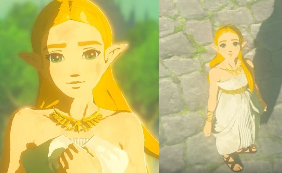 In The Century Prior To The Main Events Of Breath Of The Wild Princess Zelda Yu Shimamura Patricia Summerse Princess Zelda Costume Zelda Art Princess Zelda