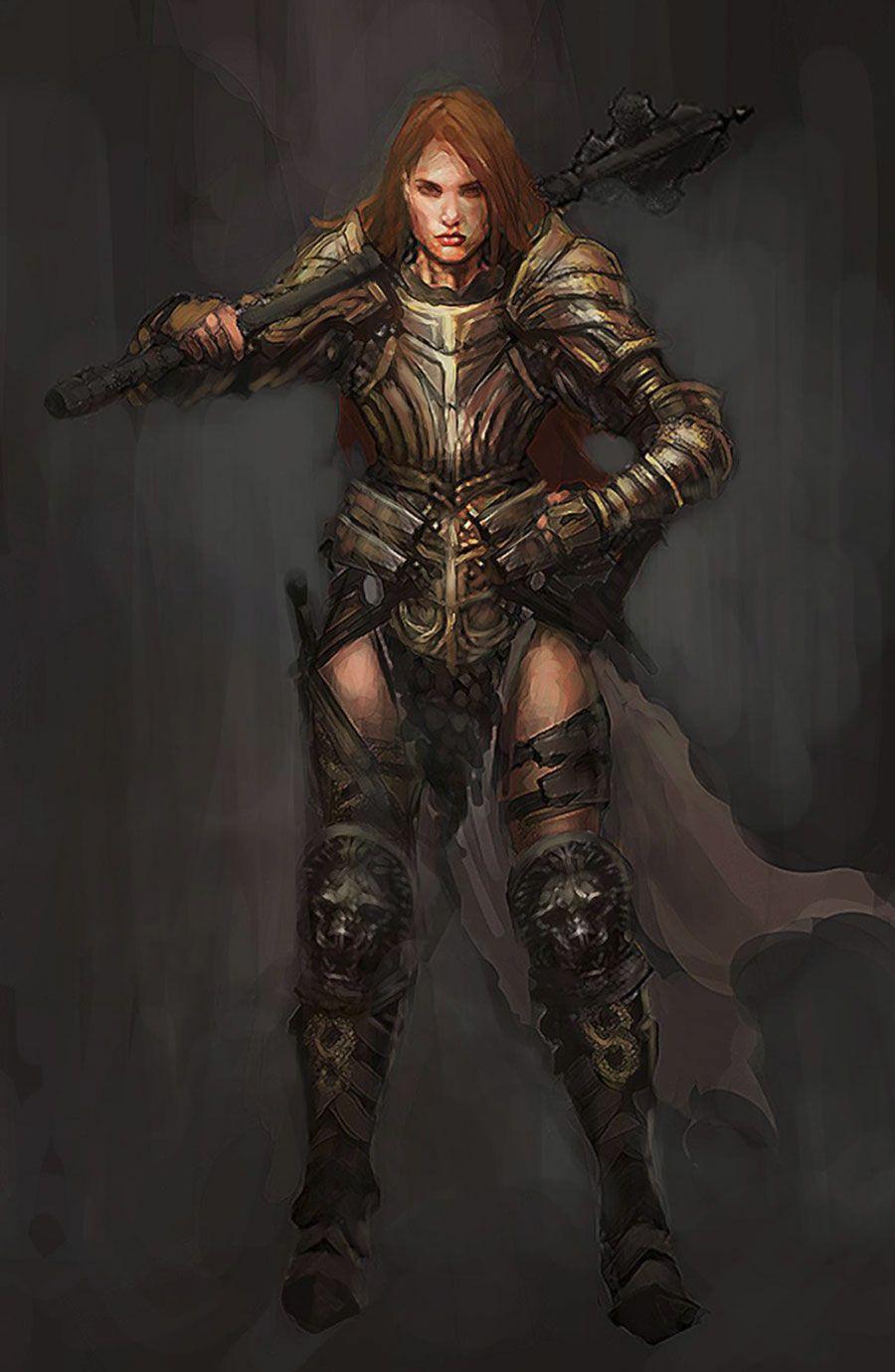 Diablo Crusader Concept Art