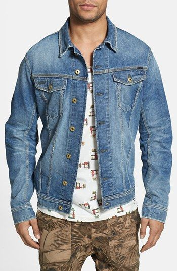 Denim Jacket 1967 Type Iii Trucker Jacket Embroidery | Nordstrom ...
