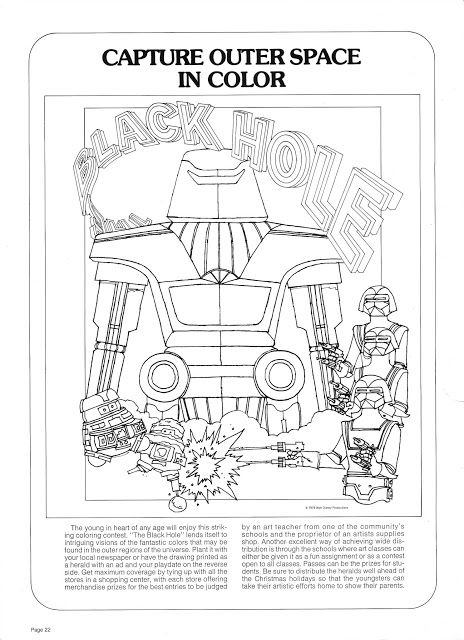 The Black Hole Coloring Page Black Hole Trading Cards More