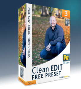 Free Lightroom Preset: Clean Edit