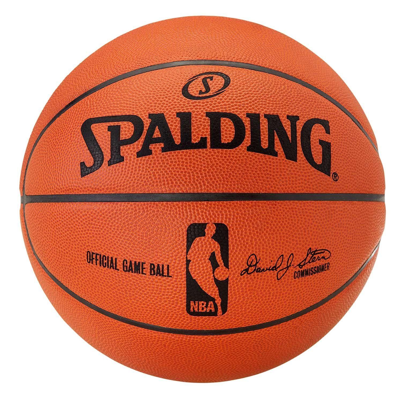 Spalding Layup Basketball Outdoor Street Court Durable Rubber Ball Size 5 7